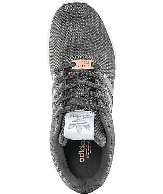 best authentic 1b713 3c671 ... adidas ZX Flux Grey Shoes ...