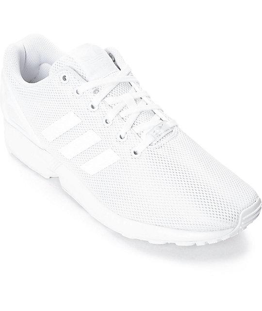 adidas zx flux blancas original