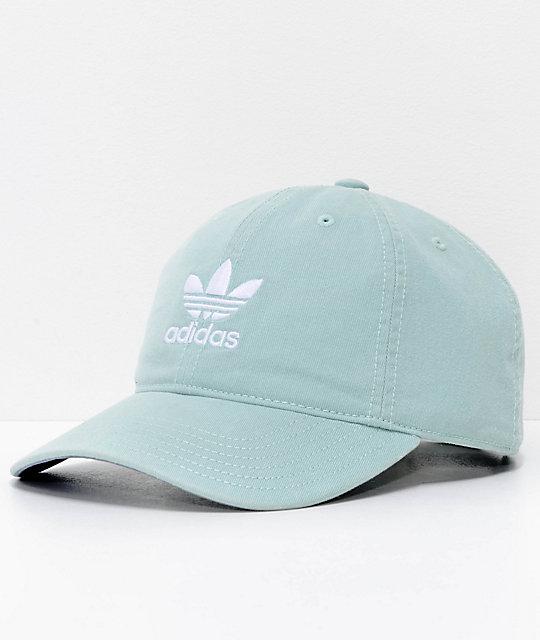 adidas gorra strapback para mujeres en verde claro