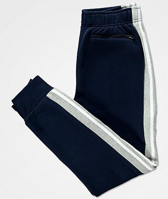 Y Niños En Polar De Marino Azul Adidas Zumiez Para Chándal Pantalones qwtfa6R