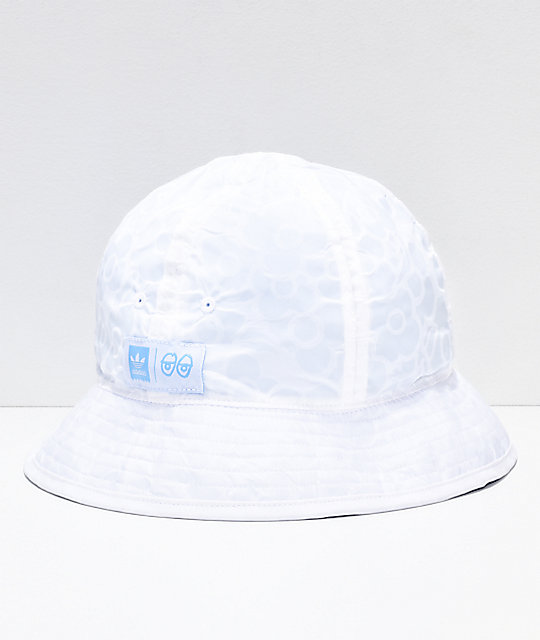 f910b3ab adidas x Krooked Reversible Bucket Hat | Zumiez
