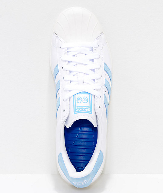 74e3c47b9 ... adidas x Krooked Superstar Vulc Chalk   Blue Shoes ...