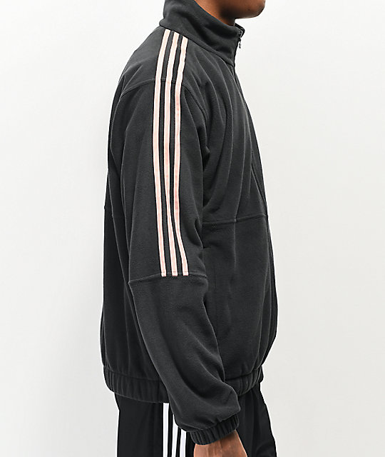 adidas fleece zip up hoodie