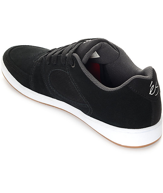 Es Accel Slim Black Shoes Size Us