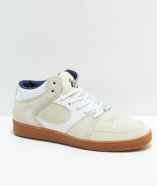 a8c91e5e6c eS Accel Slim Mid Asta White   Gum Skate Shoes
