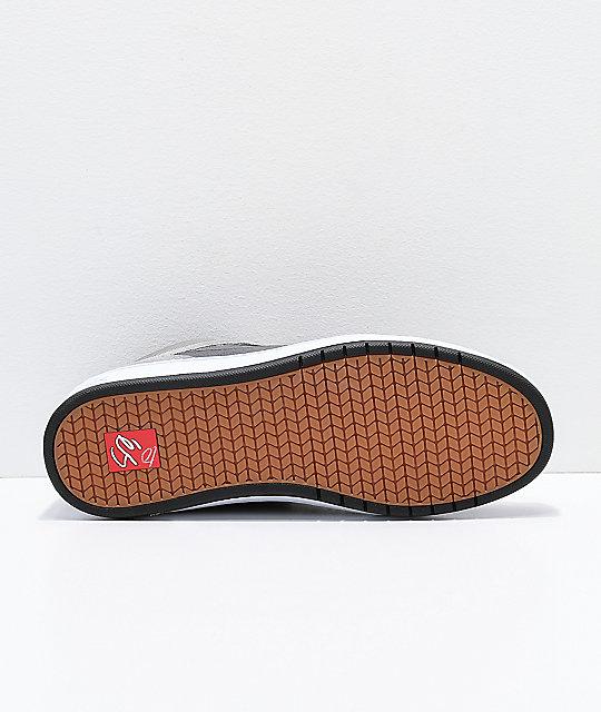 de grises eS Accel zapatos Mid Slim skate Grey H10Xq