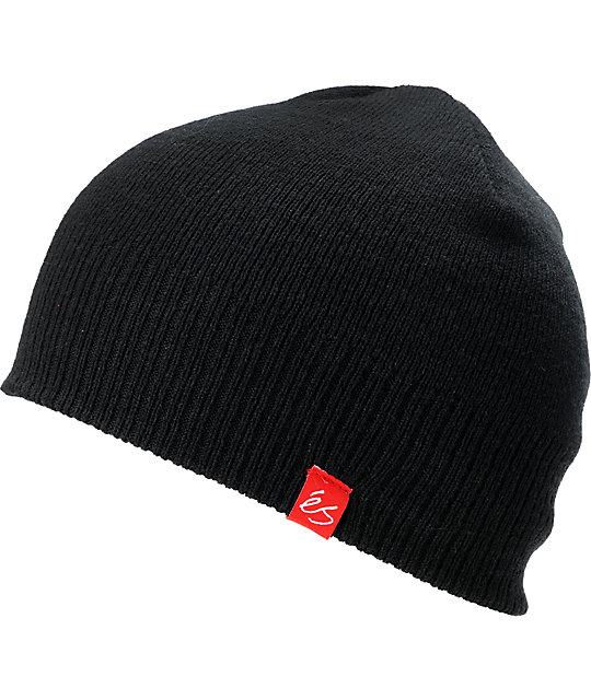 eS Chief Black Beanie