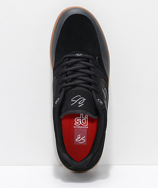 eS Swift 1.5 Black & Gum Skate Shoes