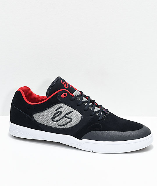 eS Swift 1.5 Navy, Grey, Red & White Skate Shoes