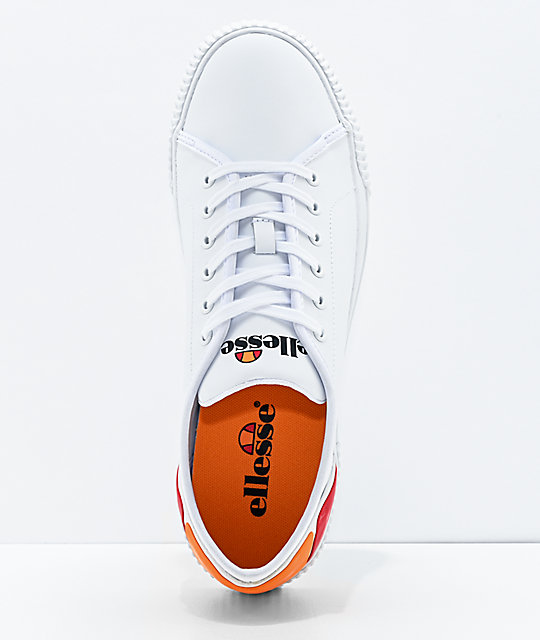 ellesse Tropea Leather White Shoes