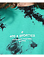 40s & Shorties General camiseta tie dye