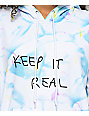 A-Lab Dots Keep It Real Tie Dye Hoodie
