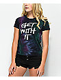 A-Lab Ezra Get With It camiseta verde con efecto tie dye