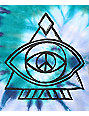 A-Lab Ezra Peace Eye Blue Tie Dye T-Shirt
