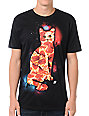 A-Lab Pizza Cat Black T-Shirt