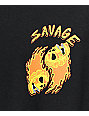 A-Lab Savage Flames camiseta negra de manga larga