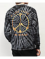 A Lost Cause Rest In Peace Black Tie Dye Long Sleeve T-Shirt
