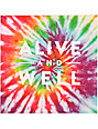 Alive and Well Square Logo Tie Dye Sticker