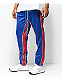 American Stitch Blue & Red Double Stripe Track Pants