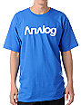 Analog Analogo Royal Blue T-Shirt