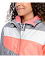 Aperture Northstar Charcoal, Coral & Grey Snowboard Jacket