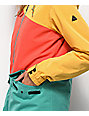 Aperture Outerlimits Green, Red & Yellow Snowboard Jacket