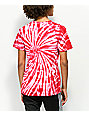 Artist Collective We Bad Too Red Tie Dye T-Shirt
