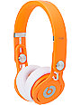 Beats By Dre Mixr Limited Edition Neon Orange Headphones