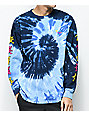 Benny Gold Dancing Levi Blue Tie Dye Long Sleeve T-Shirt