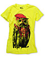 Bitter Sweet Hipster Hootie Yellow T-Shirt