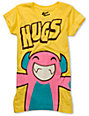 Bitter Sweet Monster Hug Yellow Glow In The Dark T-Shirt