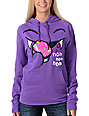Bitter Sweet Monster Nom Purple Scratch & Sniff Pullover Hoodie
