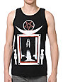 Black Scale Welcome Black Tank Top