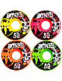 Bones Party Pack 52mm STF Skateboard Wheels