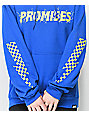 Broken Promises Bolted Checkered Blue Hoodie
