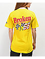 Broken Promises Don't Gas Me Up Yellow T-Shirt
