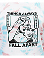 Broken Promises Fall Apart Tie Dye T-Shirt