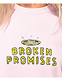 Broken Promises Playing With Fire Pink T-Shirt