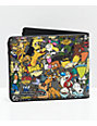 Buckle-Down Nick Cartoon Collage Bi-Fold Wallet