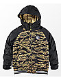 Burton Boys Game Day Olive Branch Beast Black 10K Snowboard Jacket