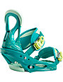 Burton Stiletto ReFlex Teal Womens Snowboard Bindings