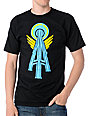 Casual Industrees Alpha Space Needle Black T-Shirt