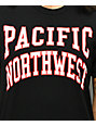 Casual Industrees PNW Collegiate Black & Red T-Shirt