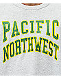 Casual Industrees PNW Collegiate Grey Long Sleeve T-Shirt