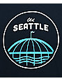 Casual Industrees SEA Old Seattle camiseta en azul marino