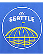 Casual Industrees Sea Old Seattle camiseta azul