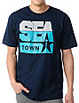 Casual Industrees Sea Town 2 Navy T-Shirt