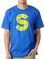 Casual Industrees Seattle S Blue T-Shirt