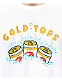 Casual Industrees x Rainier Gold Top White T-Shirt