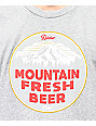 Casual Industrees x Rainier Mountain Fresh Grey T-Shirt